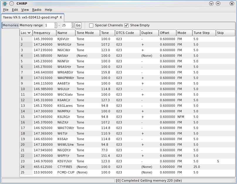 Ham Radio Software on Centos Linux