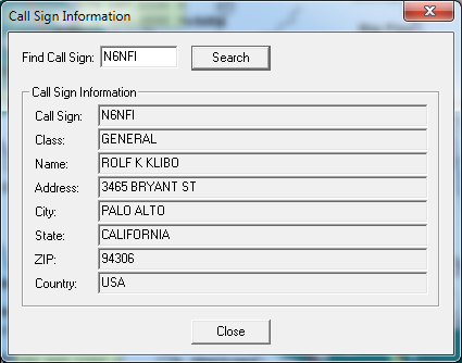 ARRL TravelPlus for Repeaters